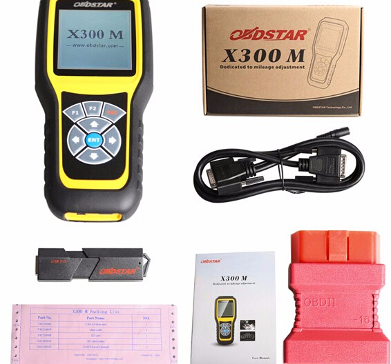 OBDSTAR X300M Car Key Programmer Special For Odometer Adjustment And OBDII
