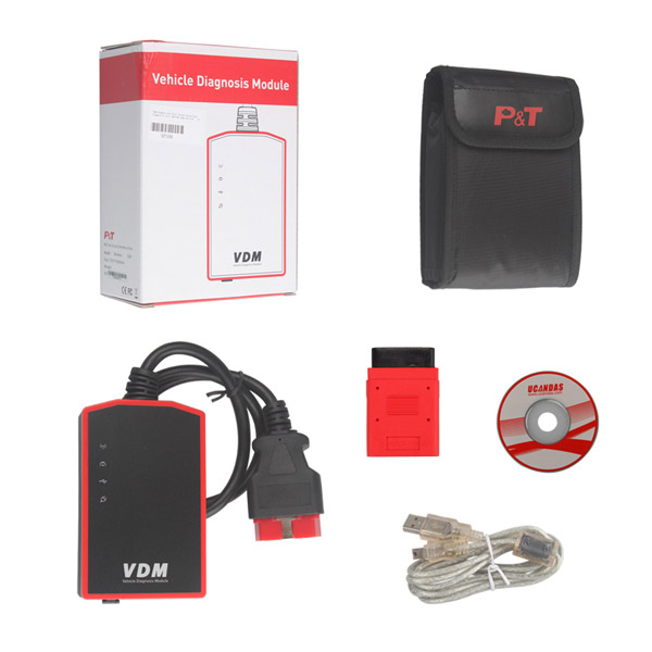 Original VDM UCANDAS WIFI V3.84 All Systems Auto Diagnostic Tool Supports AU