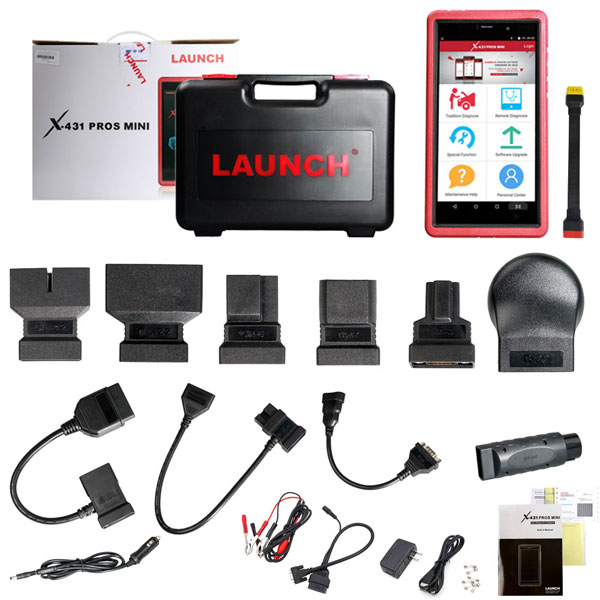 Android Pad Diagnostic Service Tool Launch X431 Scanner Free Update Online For 2 Years