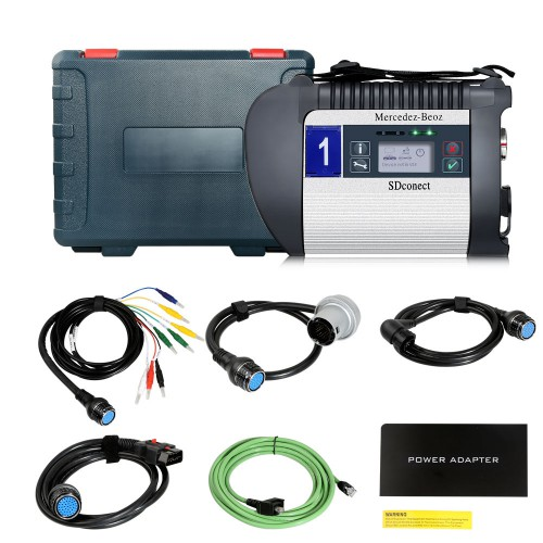 V2019.9 MB SD C4 PLUS Star Auto Diagnostic Tools With Free DTS Monaco / Vediamo
