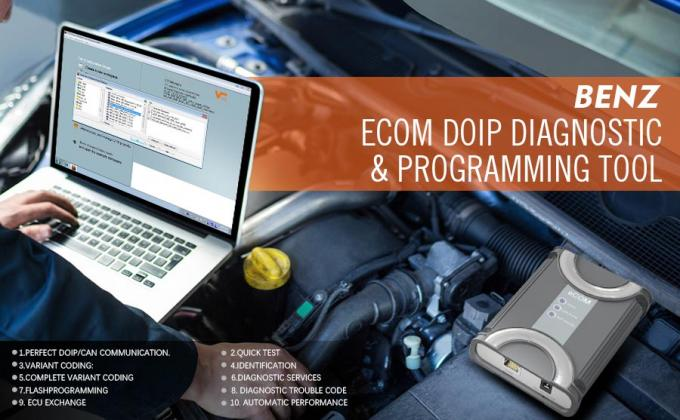 Doip Auto Diagnostic Scanner Programming Tool USB Dongle For Mercedes Till 2019