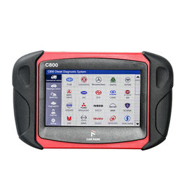Heavy Duty Vehicle Diagnostic Scan Tool Car Fans C800 Diesel / Gasoline Lightweight