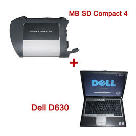 Handheld Auto Diagnostic Tools , MB SD Connect Compact 4 Star Diagnosis 2014.03V Plus Dell D630 Laptop