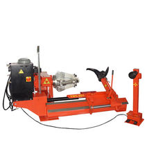 380V 50HZ Auto Workshop Equipment , Hydraulic Mobile Tyre Changer Equipment TWC-80