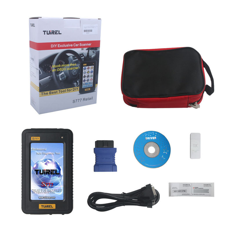 Tuirel S777 Auto Diagnostic Tools , Professional Hand-held Auto Scanner With Full Softwares