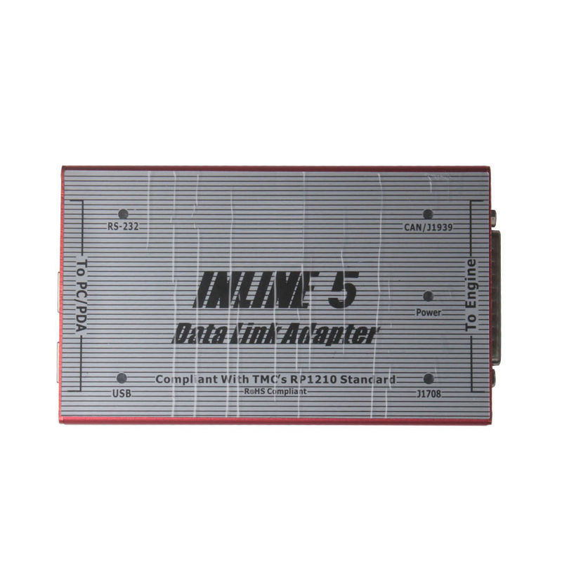 Cummins INLINE 5 INSITE 7.62 Data Link Adapter Red truck diagnostic tool