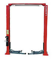 3.2Ton Auto Workshop Equipment , Narrow Manual Clear Floor 2 Post Car Lifts TLT235SCA / E32