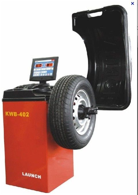 Manual Static / Dynamic Auto Workshop Equipment , High Precision Automatic Wheel Balance Machine