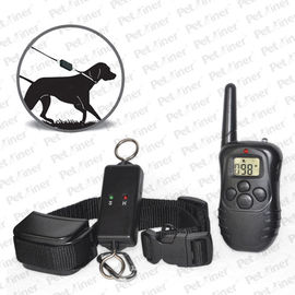 China Reliable Remote Pet Training Collar , 300m Leash-Walking Training Collar With Transmitter factory